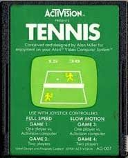 Tennis Atari 2600 Game. Game only. Great condition!!! Tested and works like new.