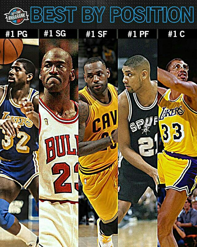 MJ should be number 1 not magic he should be in 2 NBA