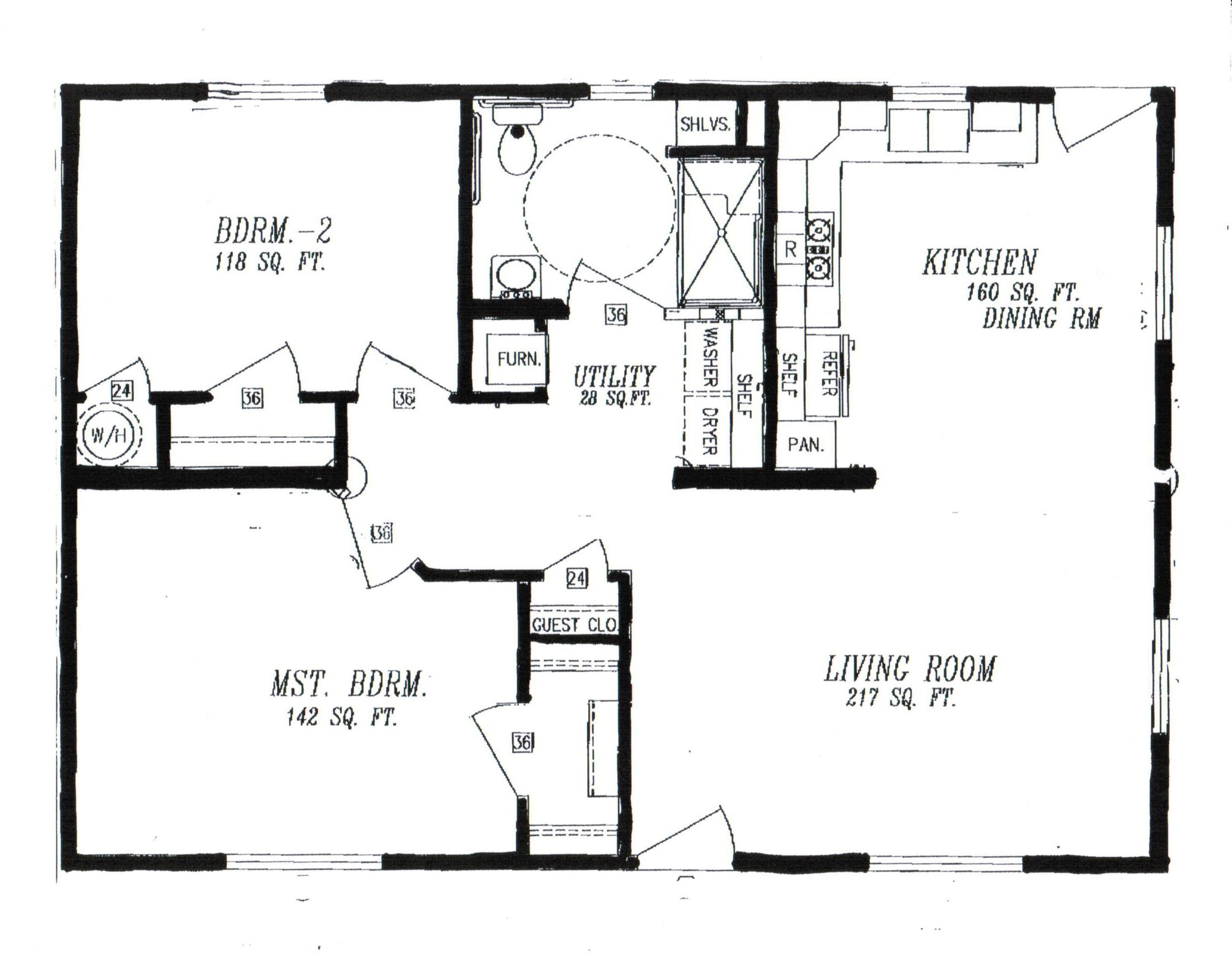 ada living room layout