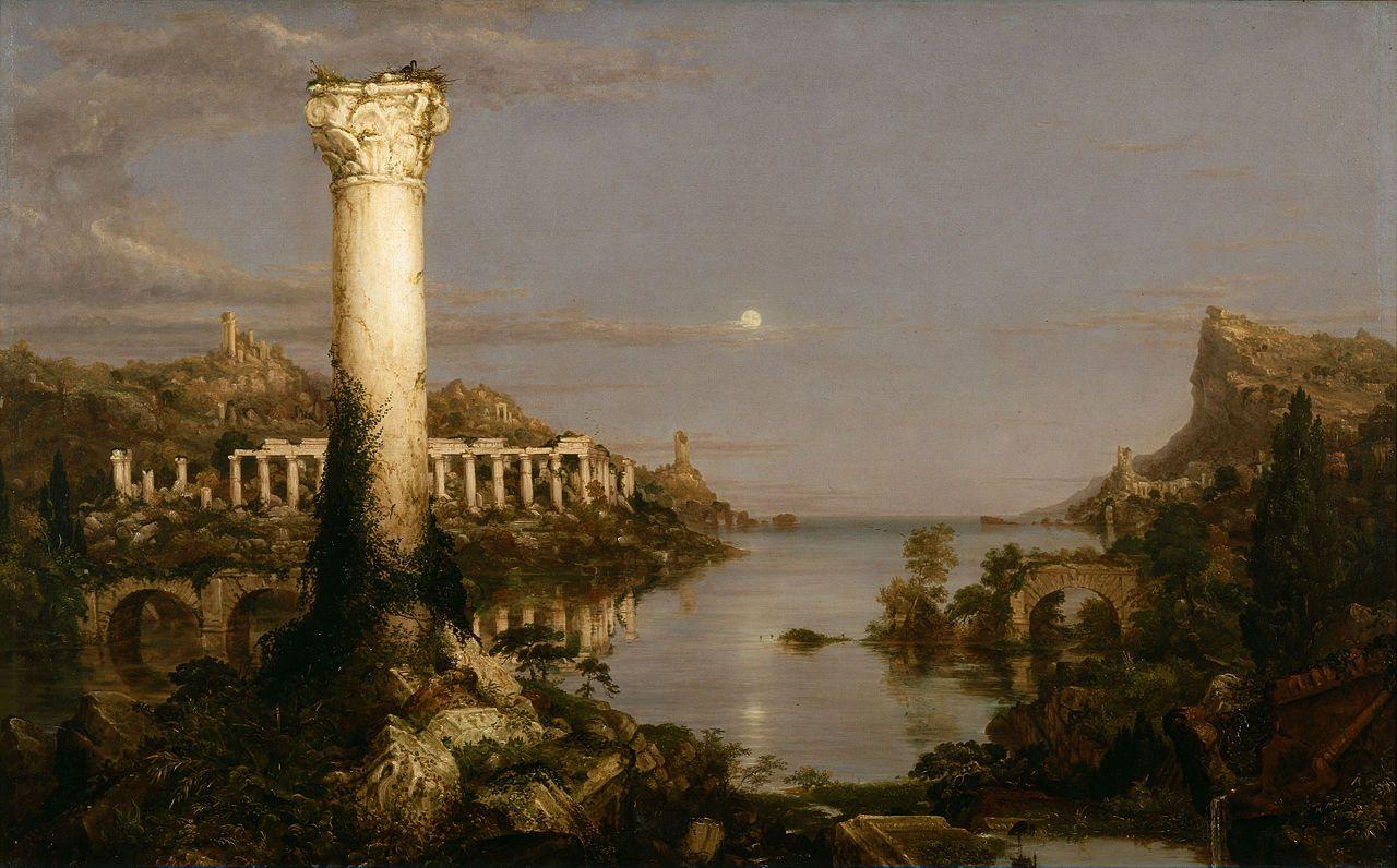 Cole Thomas The Course of Empire Desolation 1836 - The Course of Empire - Wikipedia, the free encyclopedia