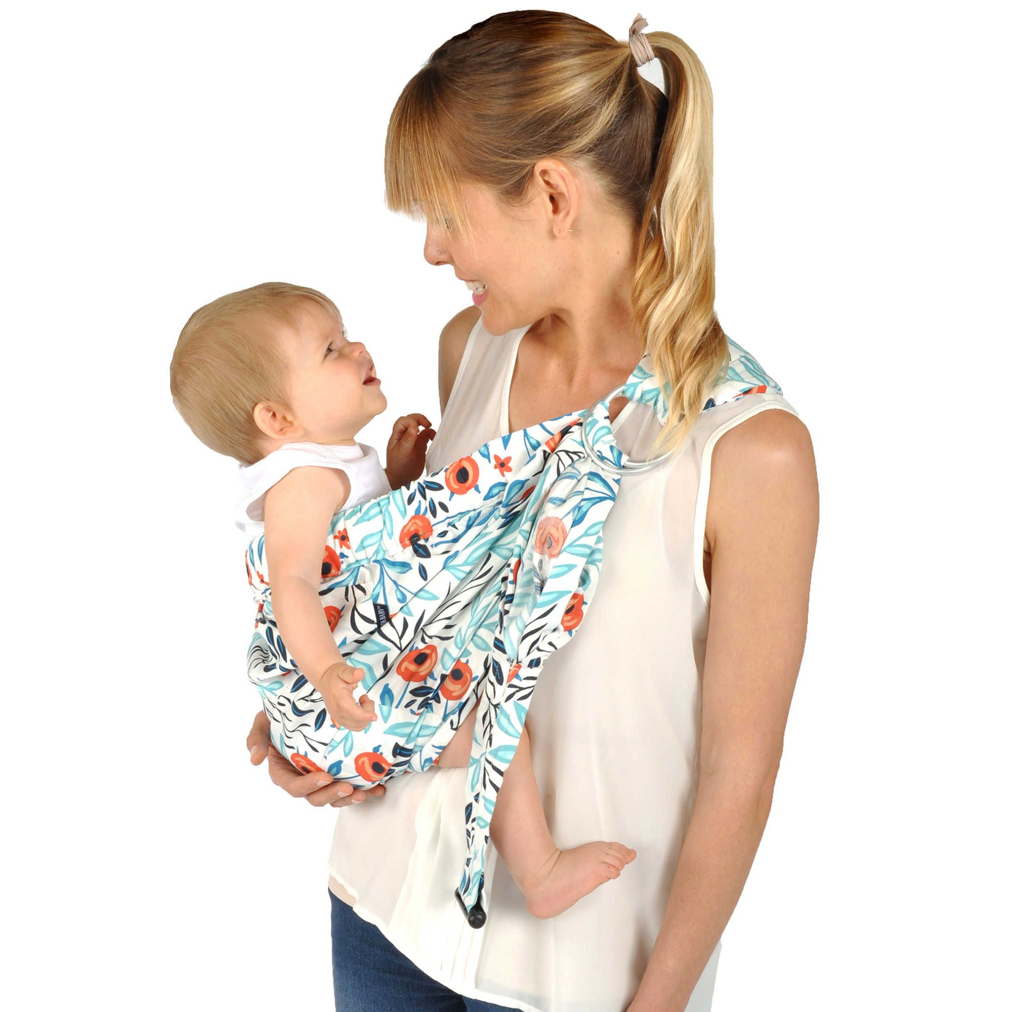 fd0856334ae Balboa Baby® Dr. Sears Original Adjustable Baby Sling Baby Carrier in  Rinocula