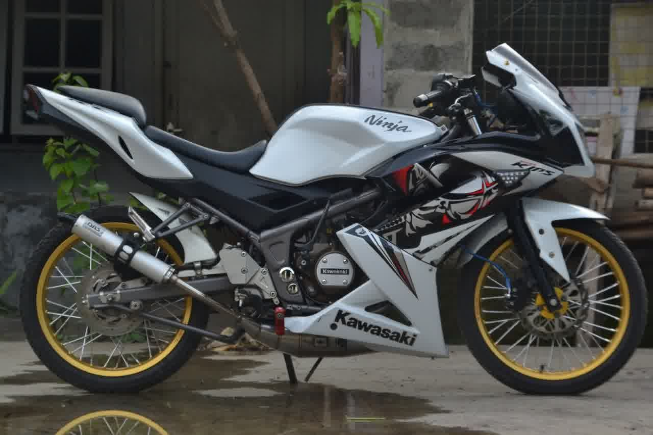 contoh modifikasi motor kawasaki ninja r