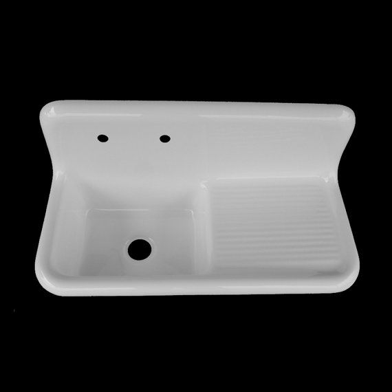 X Double Bowl, Double Drainboard Farmhouse Sink Reproduction Model
