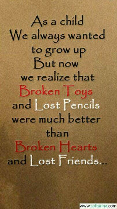 Quotes About Loss Of Friendship Gorgeous 226.how I Feel Todaylost Friends Broken Hearts Slp