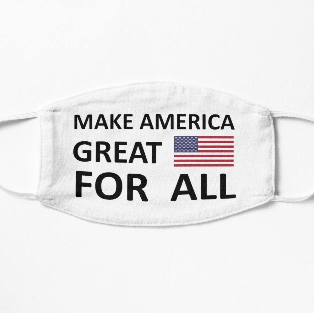 Make America Great For All Breonna Taylor Michael Brown Mask By Schlossinspire In 2020 Michael Brown How To Make The North Face Logo