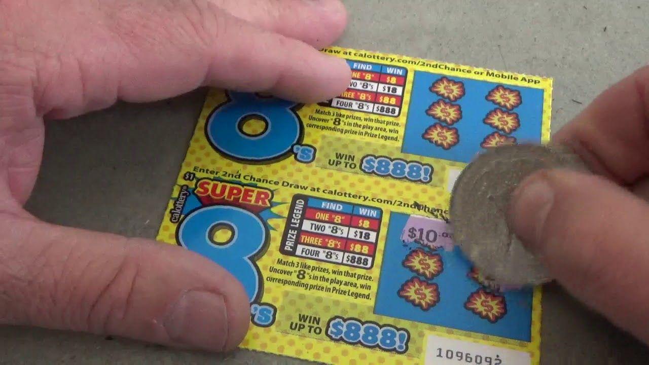 187 California Set For Life Mega Lottery Scratchers Las