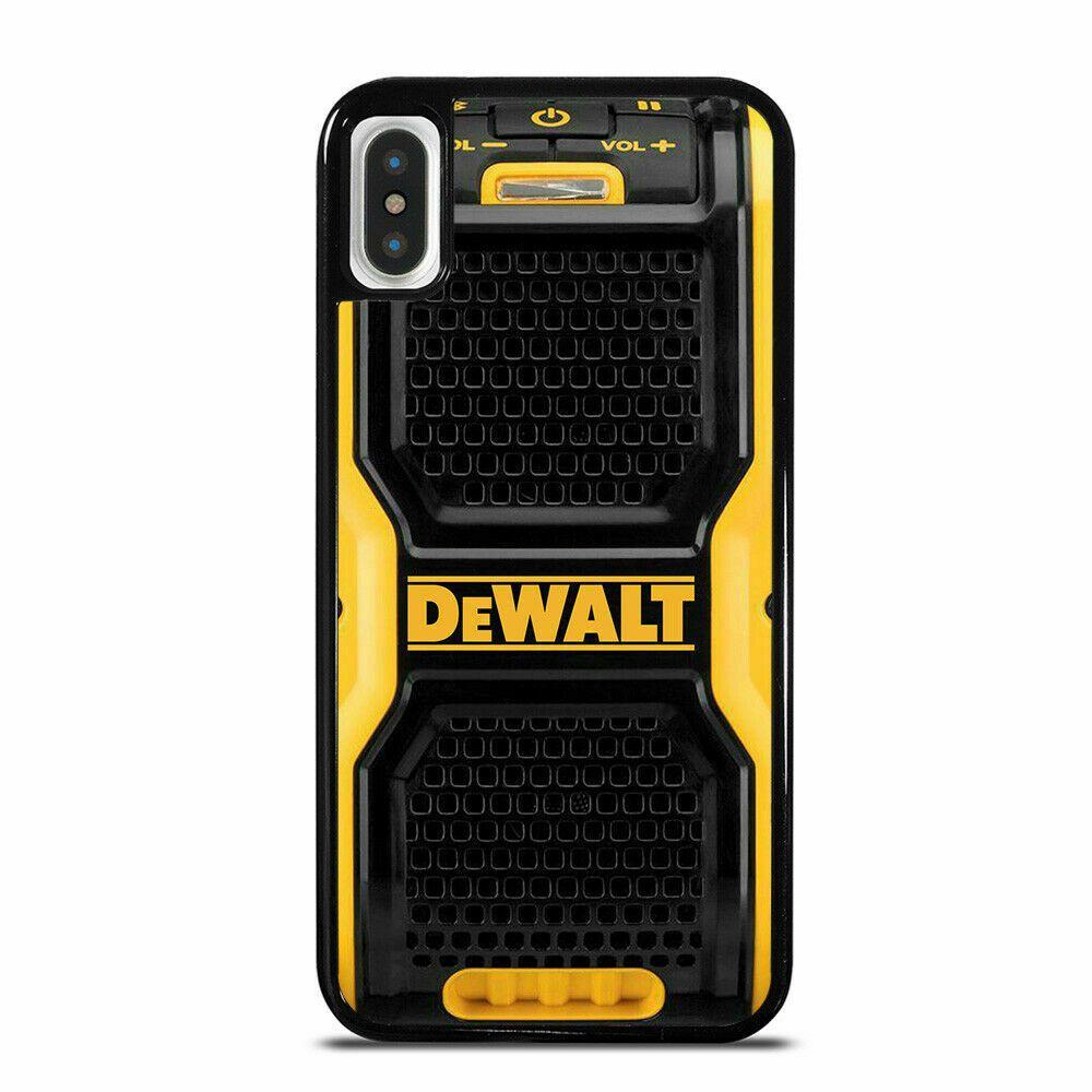 Dewalt jobsite speaker phone case for iphone 6 7 8 x xr xs
