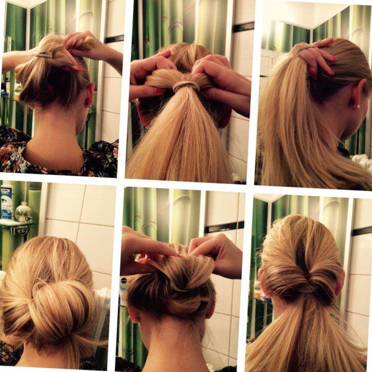 Schicke Einfache Frisur Stylehaare Info 398 Schicke
