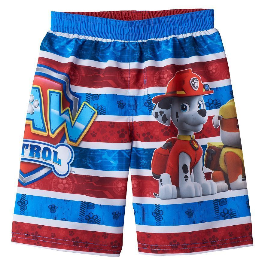 d5f109a1e5 Nickelodeon Toddler Boys Paw Patrol Swim Trunk Clothing, Shoes & Jewelry