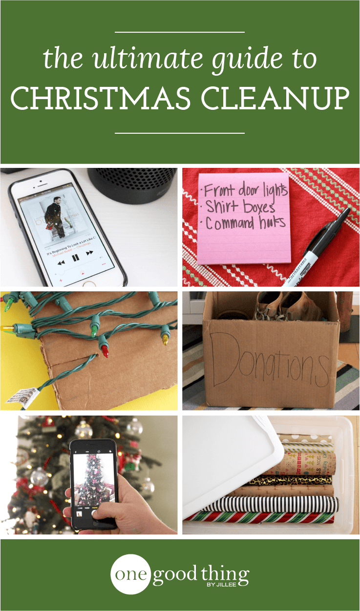 The Ultimate Day After Christmas Cleanup Guide Jillee One Good
