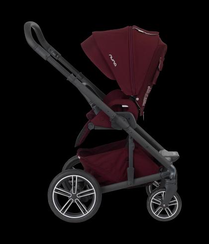 Nuna Mixx2 in Berry Nuna stroller, Nuna mixx stroller