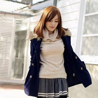 Buy 'Tokyo Fashion – Faux-Fur Collar Jacket' with Free Shipping at YesStyle.ca. Browse and shop for thousands of Asian fashion items from Taiwan and more!