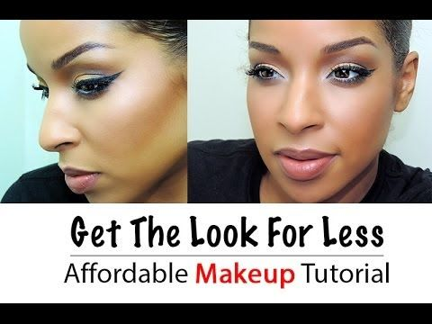 flawless face and golden smokey eye  affordable makeup