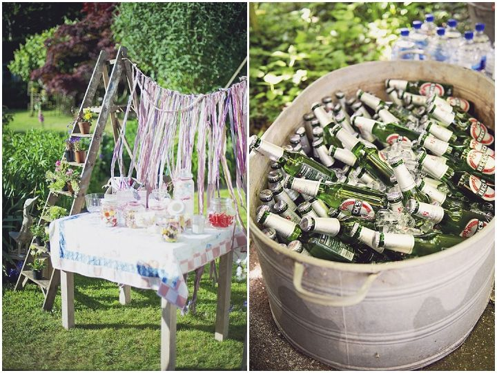 Alexandra And James Rustic Garden Party Wedding Complete With Shetland Ponies By Candid Love This