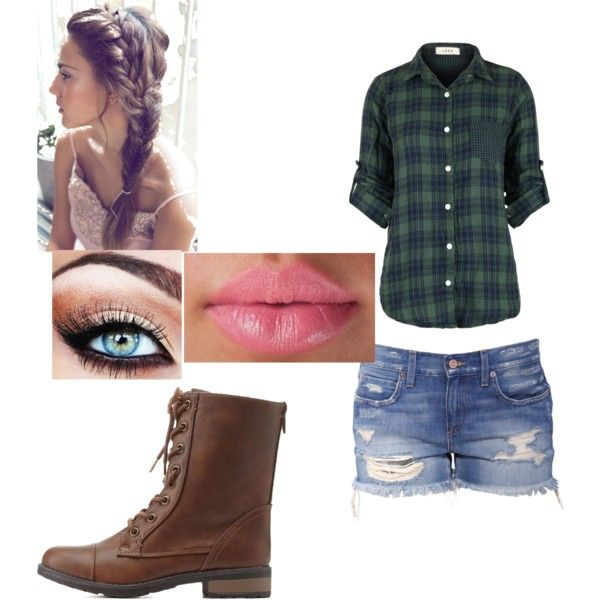 flannel days by annikasallie on Polyvore featuring polyvore fashion style Charlotte Russe