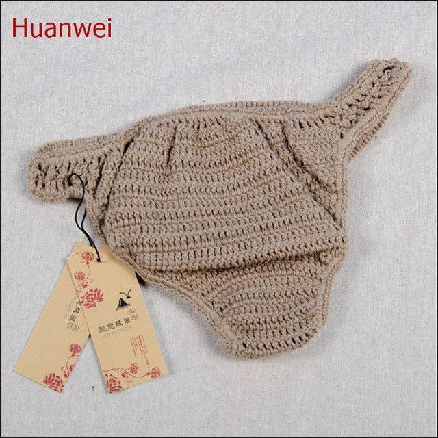 Sexy Micro Crochet Bikini Bottom Thong Bikini Swimwear Crochet