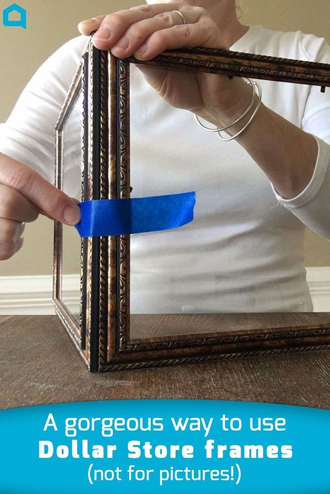 People are pinning this Dollar Store frame idea like crazy and you ...