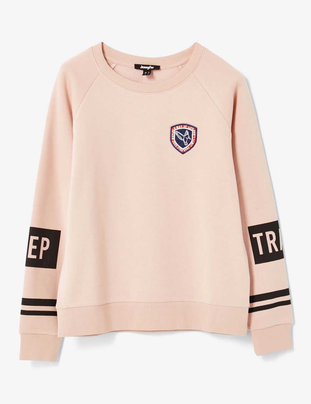 319ce00f96ee7 Sweat keep track rose clair femme • Jennyfer | man fash | Jennyfer ...