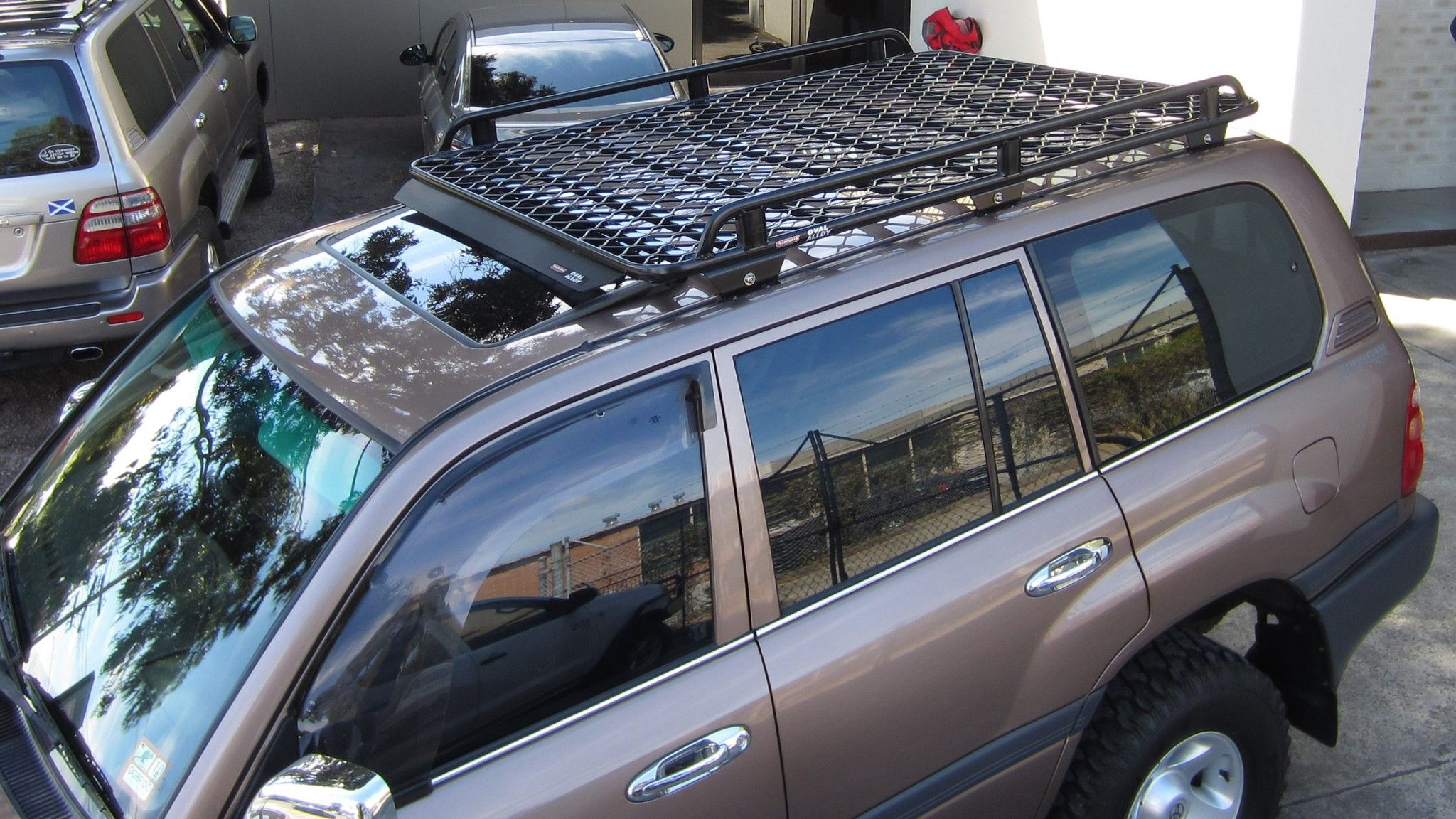 Toyota Landcruiser 100 Series Roof Racks Land Cruiser Toyota Land Cruiser 100 Landcruiser 100