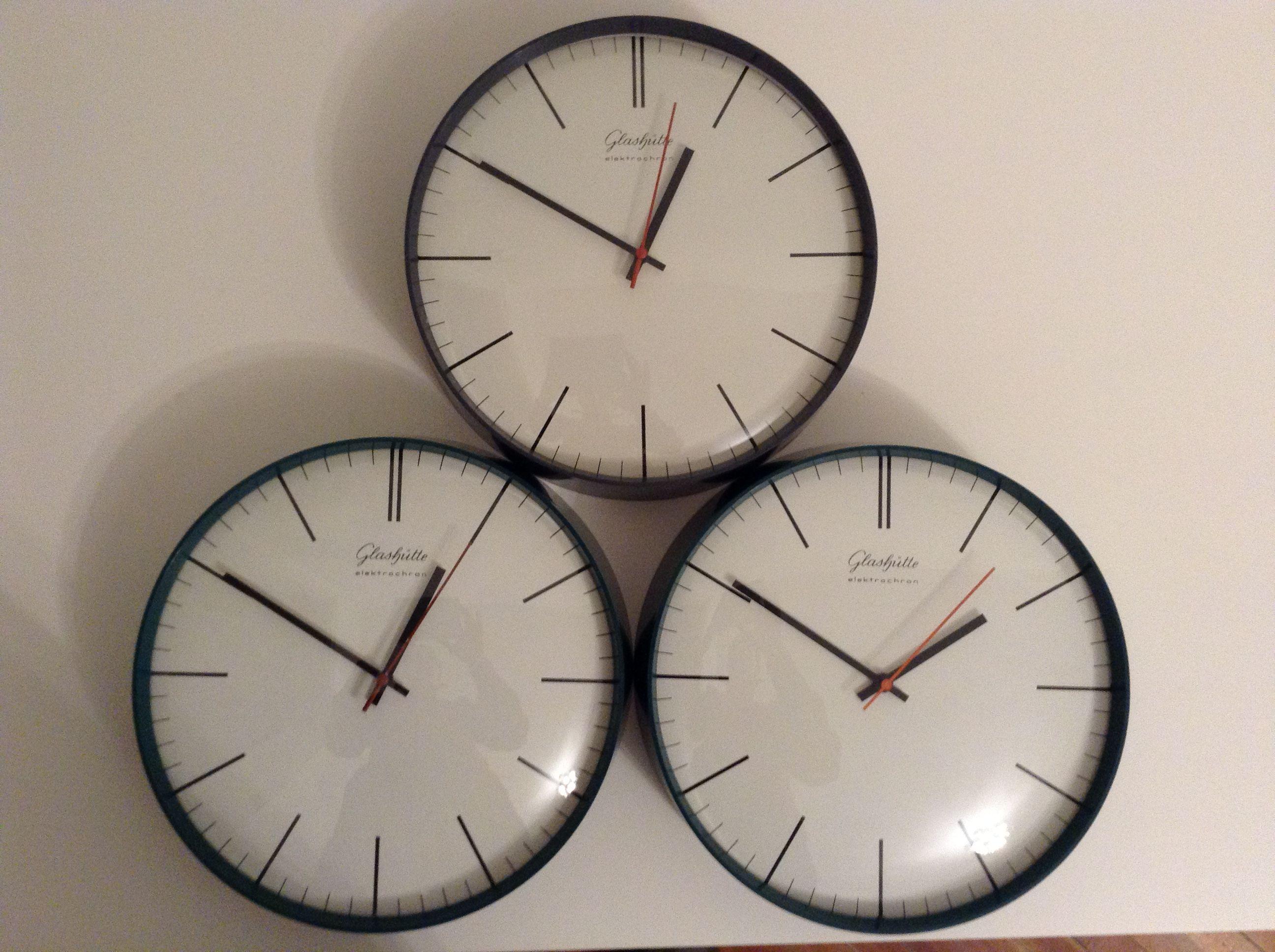 Glashutte Elektrochron Electric Wall Clock From East Germany Clock Wall Clock Special Clock