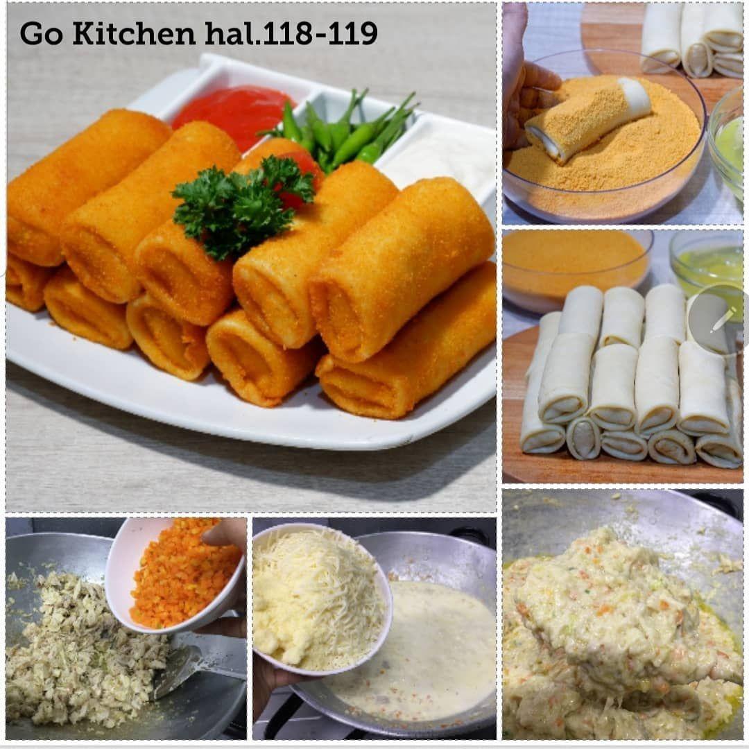 Go Kitchen Risoles Bahan Isian 250 Gram Dada Ayam Rebus 150 Gram Kentang 2 Buah 150 Gram Wortel 2 Buah 2 Batang Bawang Daun 2 Cemilan Makanan Resep