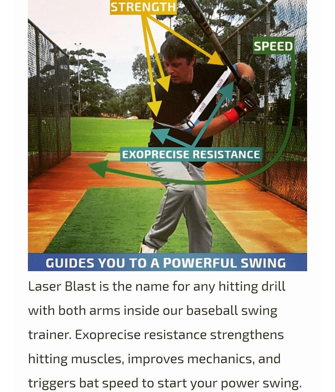 Exercises To Increase Bat Speed And Power Baseball Softball Hitting Aid Bat Speed Baseball Swing Trainer