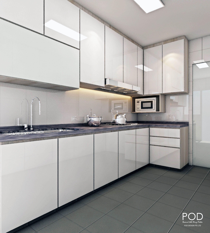 Kitchen modern pod design pte ltd simple design of l shape