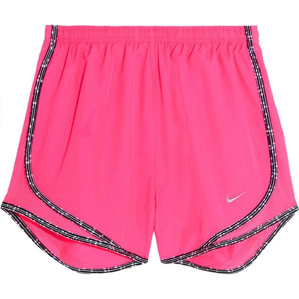 fc7a919b6ad0e Nike Tempo mesh-paneled Dri-FIT shell shorts ($29) ❤ liked on ...