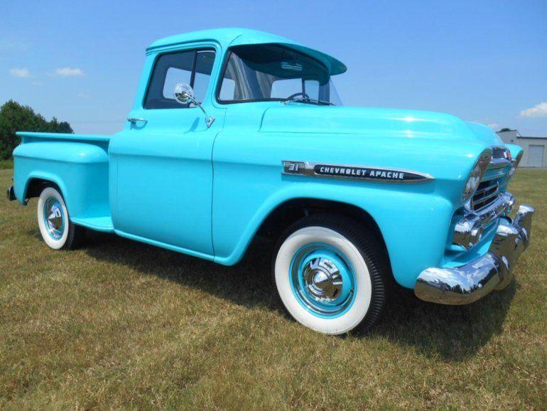 1959 Chevrolet Apache 3100 Truck Old Cars Trucks Chevrolet