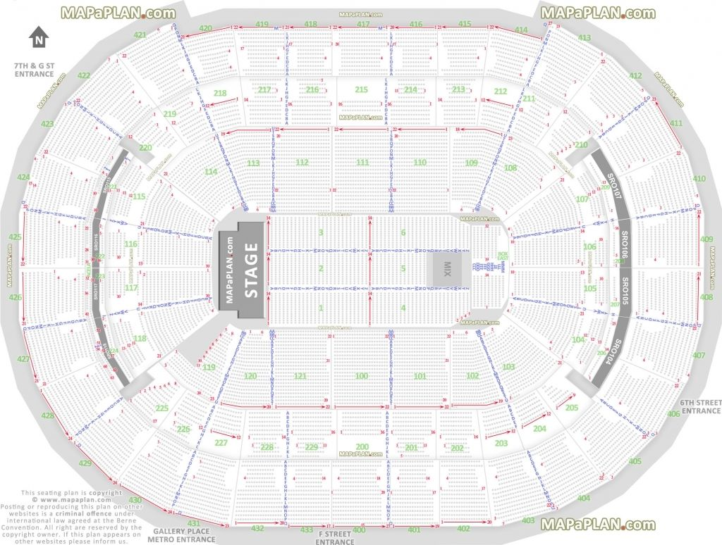 The Brilliant Quicken Loans Arena Seating Chart With Rows And Seat Numbers Hamburg