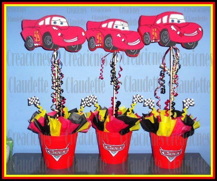 Decoración de fiestas infantiles de Cars6jpg egreso Pinterest - decoracion de cumpleaos