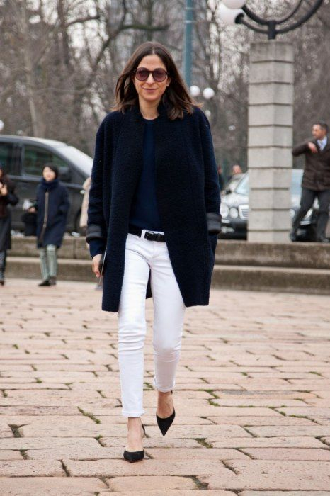 2dd3ca84902 50+ Ways To Wear White Jeans In Winter Closetful of Clothes waysify