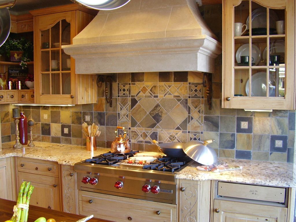 spanish tile backsplash kitchen ideas | future house wish list