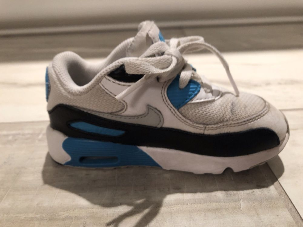 on sale e9dad fb20e Nike Air Max White Cool Grey Blue Toddler Boy Size 9C  fashion  clothing   shoes  accessories  babytoddlerclothing  babyshoes (ebay link)