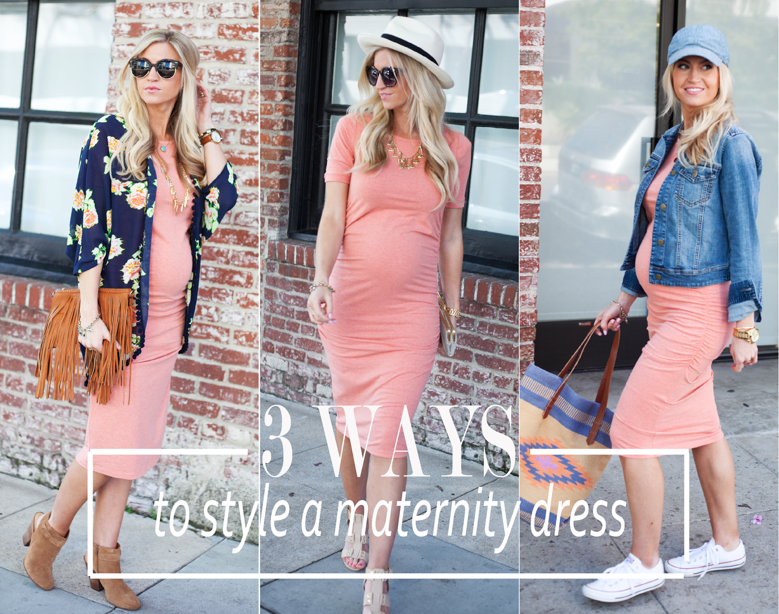 Elle Apparel: 3 WAYS TO STYLE A MATERNITY DRESS | Fabulous ...