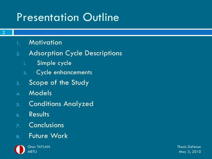 My Thesi Defense Presentation Phd How To Start A Dissertation