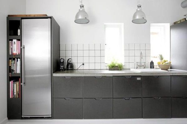 Kök kök industriellt : 17 bästa bilder om Kök pÃ¥ Pinterest | Öppna hyllor, Industriell ...