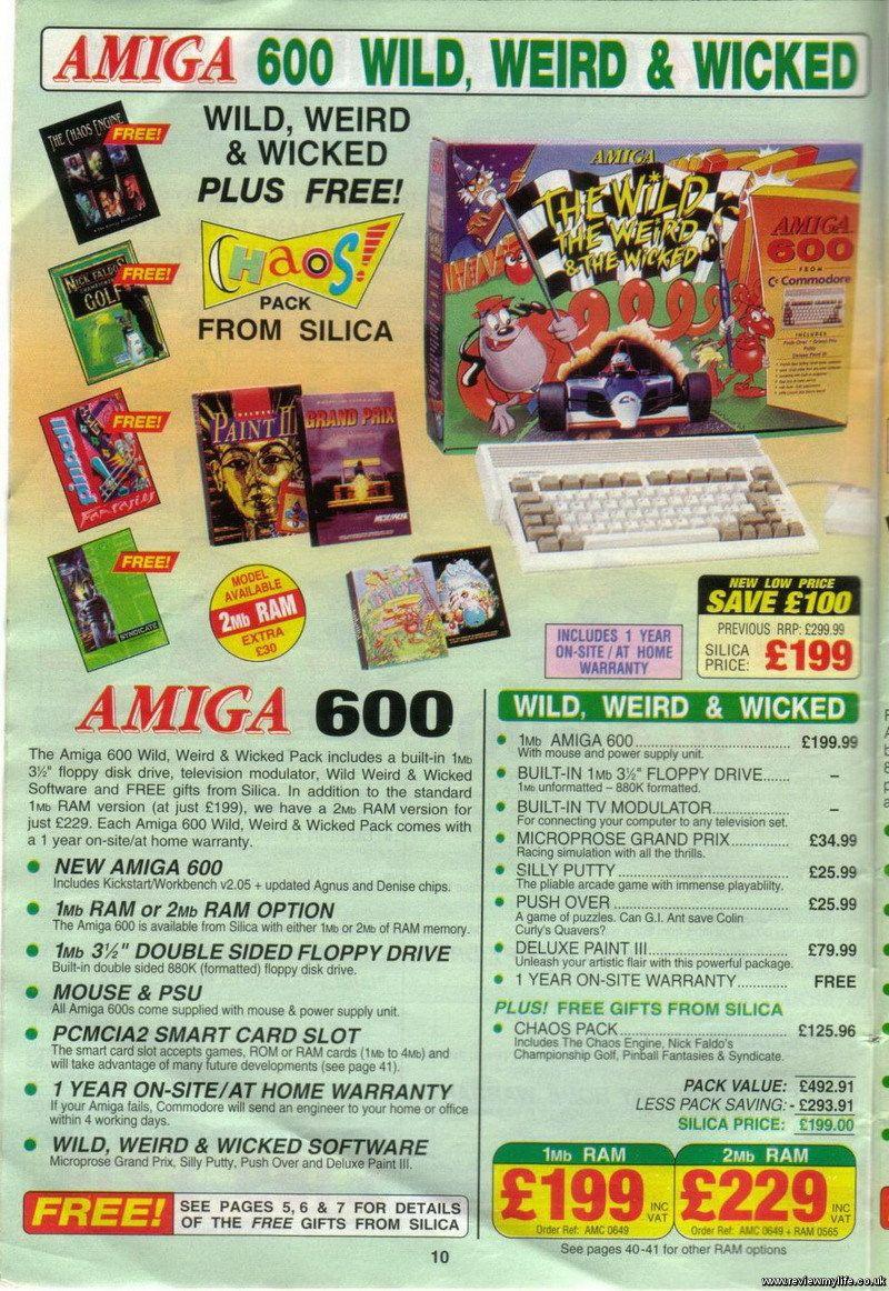 Amiga 600 | COMMODORE AMIGA | Hardware, Retro, Event ticket