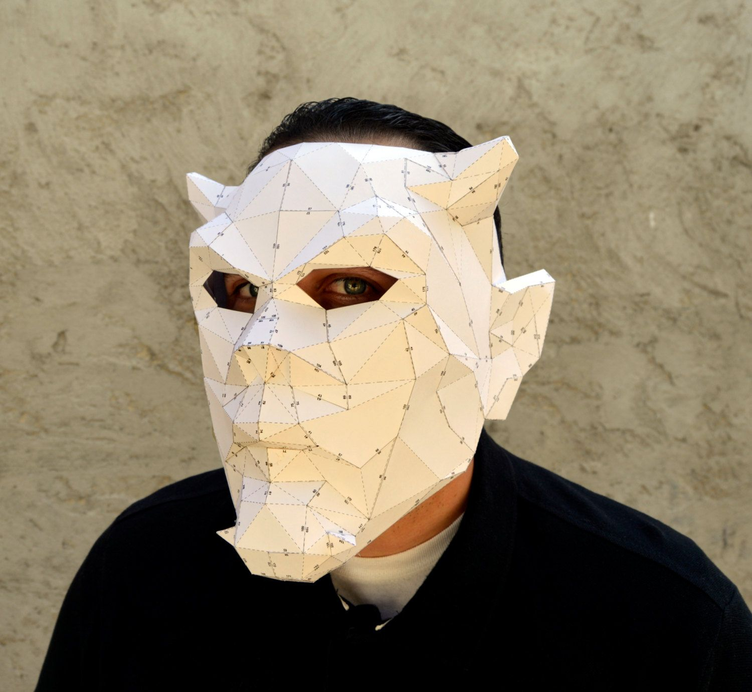 Make Your Own Devil Mask. | Halloween Mask | Papercraft Devil ...