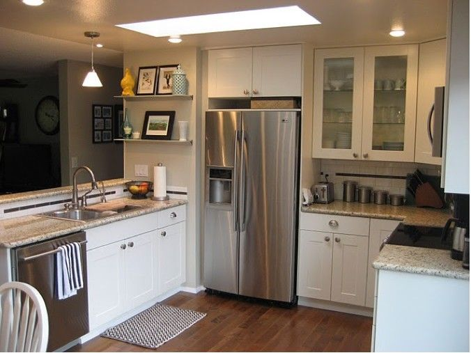 quick kitchen breakdown: $1850 appliances $2400 ikea cabinets
