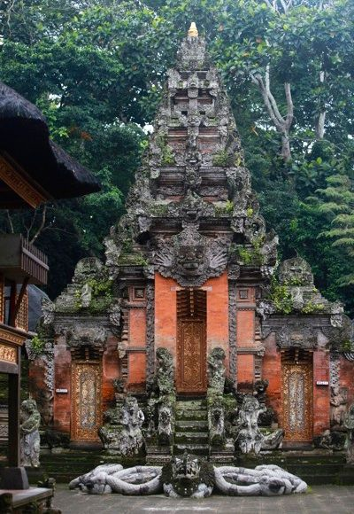 Monkey Forest Temple, Ubad, Bali   Bali travel, Temple bali, Ubud