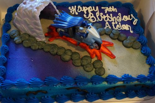 Shark Birthday Cake Walmart