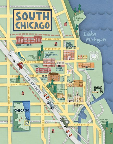 Map Of South Side Chicago Neighborhoods south chicagoman, gotta study this!! | Sweet Home Chicago