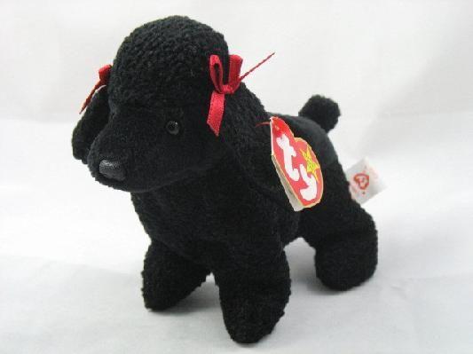 Ty Beanie Baby Dog Poodle Gigi Ships Free  4165b25f1d0