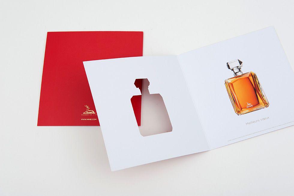 Deux point Deux - projet HINE, vœux – Jarnac - institutionnel - designers graphiques - graphistes - nantes