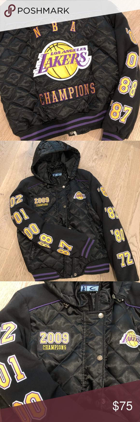 Lakers Championship Jacket Jackets Clothes Design Fashion