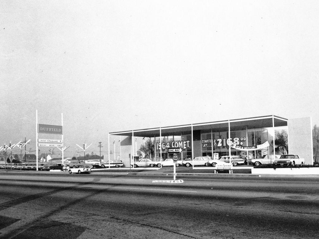 1964 Duffield LincolnMercury Dealership, Long Beach