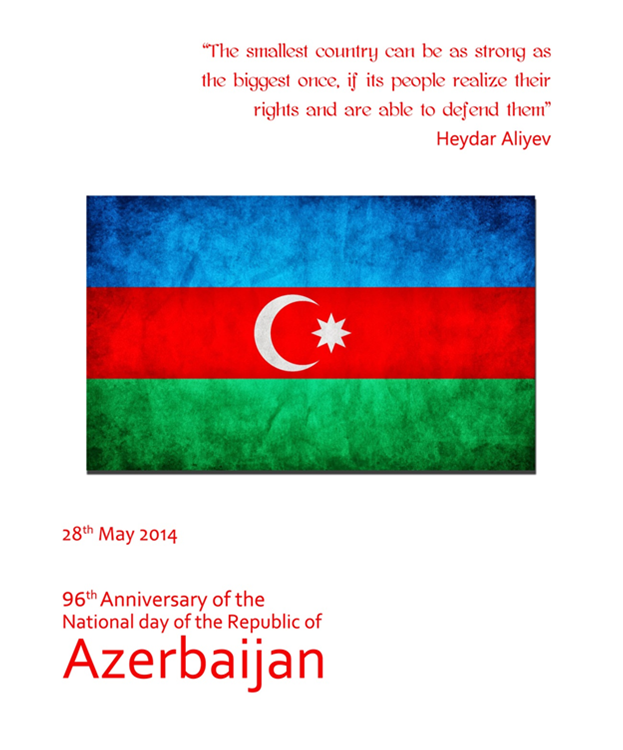 Today Is A National Day Of Azerbaijan Republic Azerbaijan People S Republic The First Republic In The Muslim World Republic Day One Republic The Republic