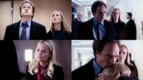 Image result for the west wing season 7 leo and annabeth
