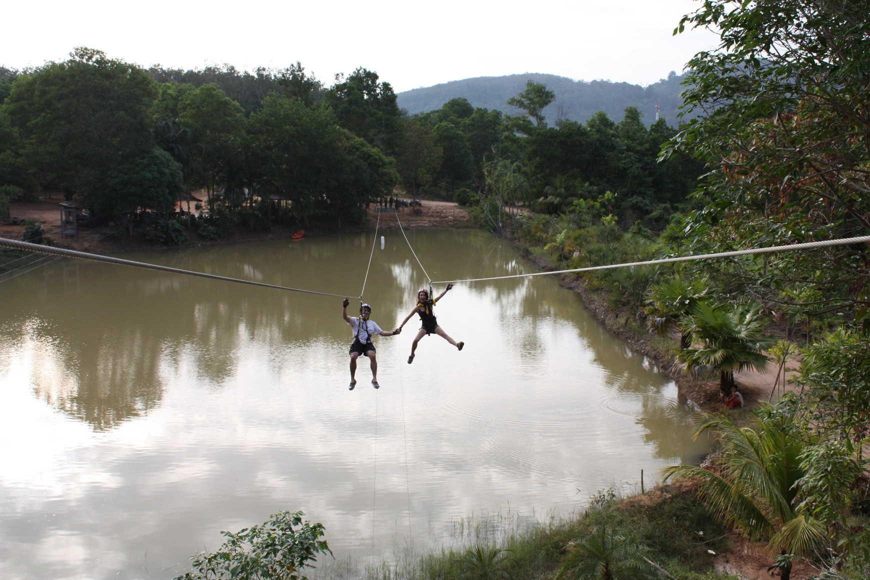 #RopeBridge #Phuket #Thailand
